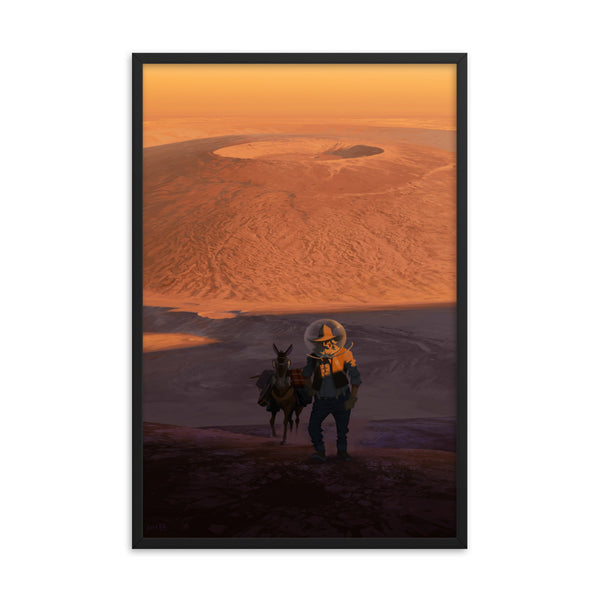 The Prospector - Framed photo paper poster