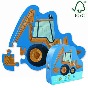 crocodile creek mini digger puzzle
