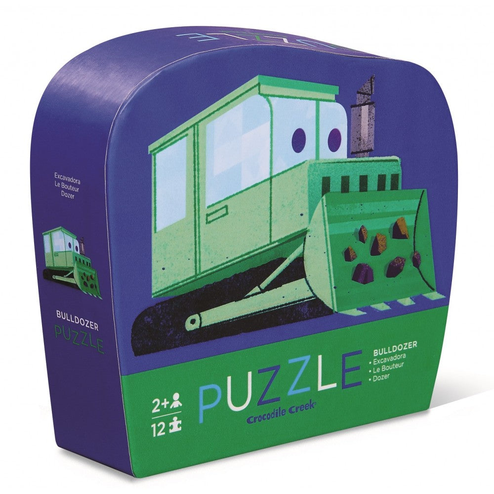 crocodile creek mini bulldozer puzzle