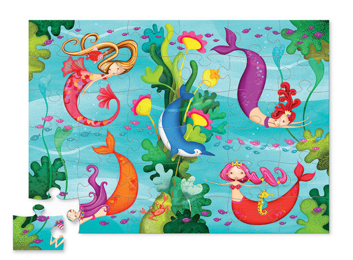 crocodile creek mermaid puzzle