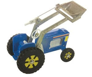 fun ho front end loader in blue