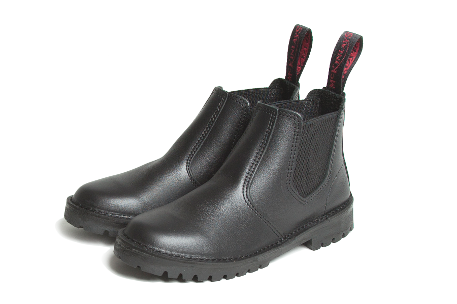 mckinlays hunter black boot