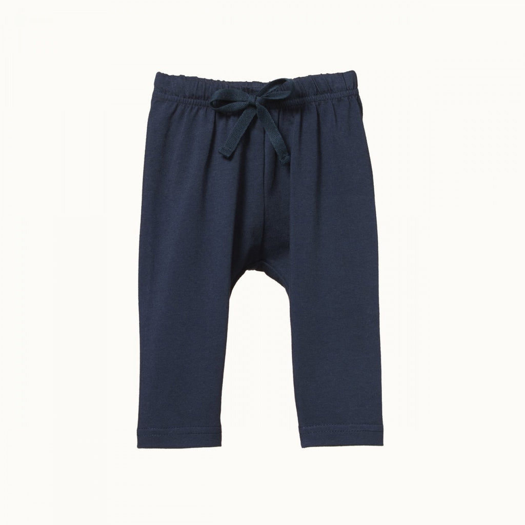 nature baby organic cotton sunday pants in night