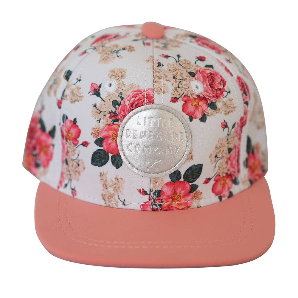 little renegade cap  in vintage floral print