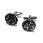 1949 Railroad Date Nail Cufflinks