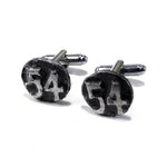 1954 Railroad Date Nail Cufflinks
