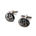 1948 Railroad Date Nail Cufflinks