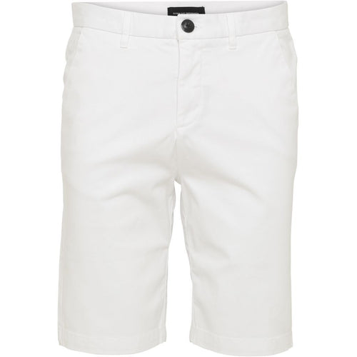 Lucca Chino Shorts White