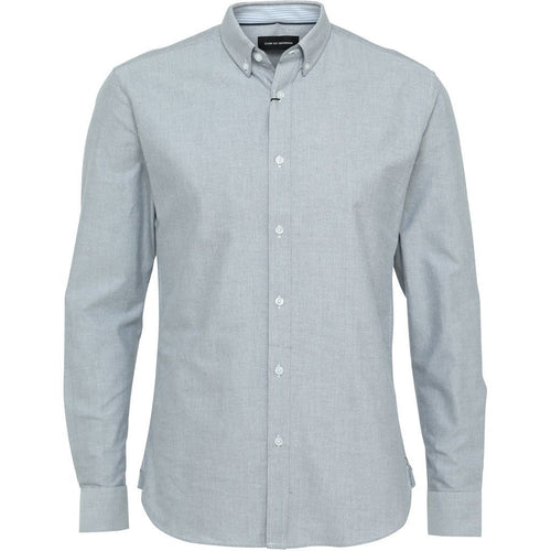 Oxford Plain Longsleeve Grey