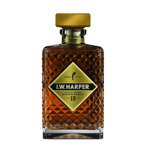 I.W.Harper Age 15 Years Kentucky Straight Bourbon Whiskey | De Wine Spot - Curated Whiskey, Small-Batch Wines and Sakes