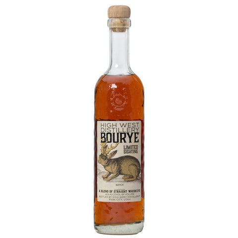 High West Bourye A Blend Of Straight Whiskies | De Wine Spot - Curated Whiskey, Small-Batch Wines and Sakes