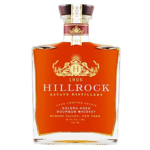 Hillrock Estate Distillery Solera Aged Bourbon Whiskey | De Wine Spot - Curated Whiskey, Small-Batch Wines and Sakes