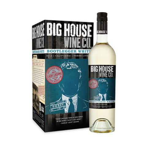 Big House Wine Company Bootlegger White Lucky Luciano - De Wine Spot | Curated Whiskey, Small-Batch Wines and Sakes