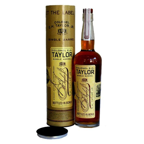 The Colonel E.H. Taylor Single Barrel Bourbon Whiskey | De Wine Spot - Curated Whiskey, Small-Batch Wines and Sakes