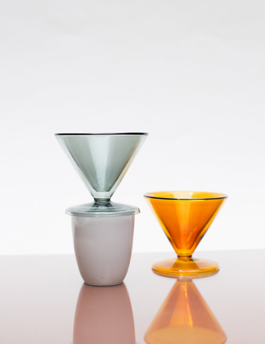 Yeild Design Amber Double-Wall Pour Over