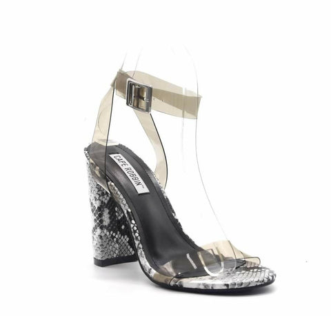PVC Clear High Heel Shoes from Cape Robbin