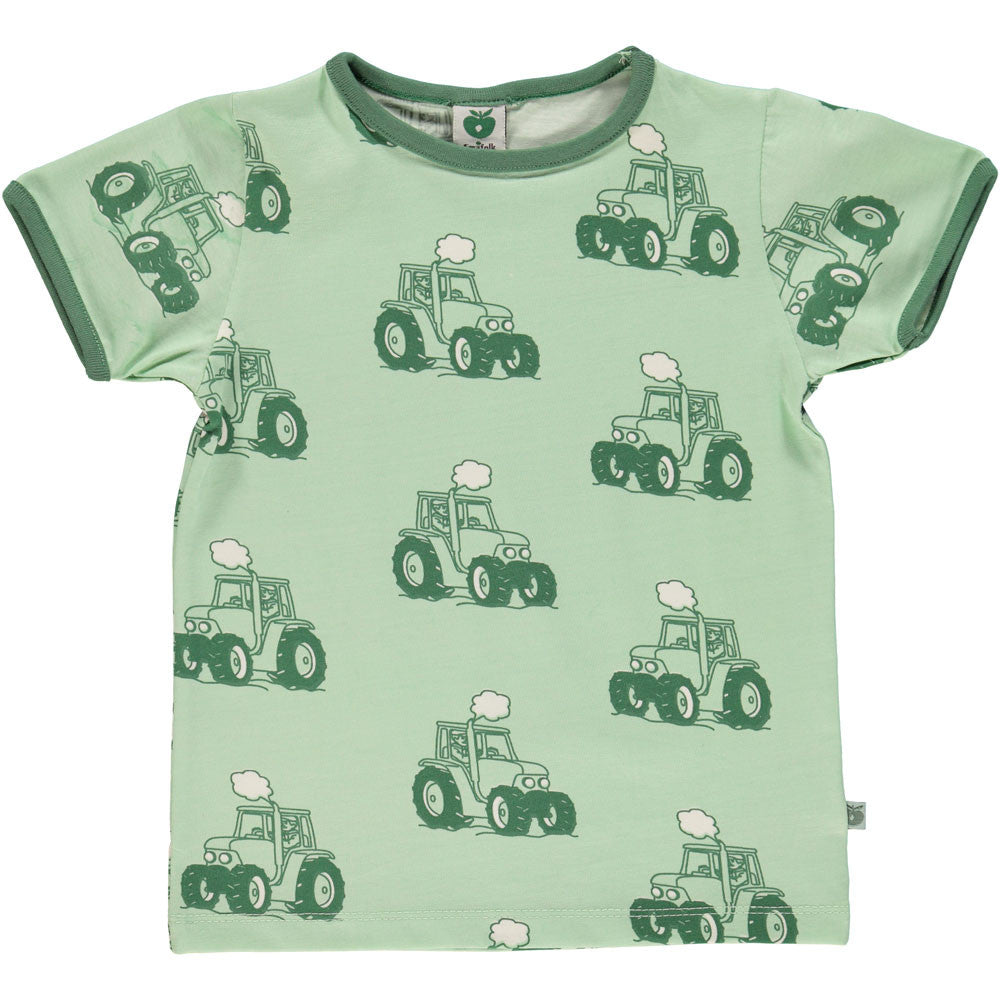 Light Green Tractor T-Shirt