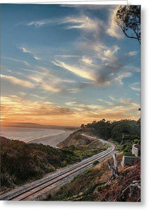 La Selva Train Trestle - Greeting Card - Santa Cruz Art Prints