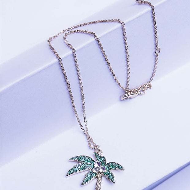PALM CHARM NECKLACE NK-08B