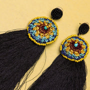 COLORFUL FUNK ROUND EARRINGS ER-99