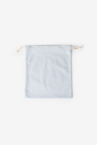 Small Dustbag Blue Oxford Stripe
