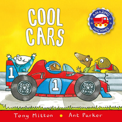 Tony Mitton Amazing Machines Cool Cars Singapore