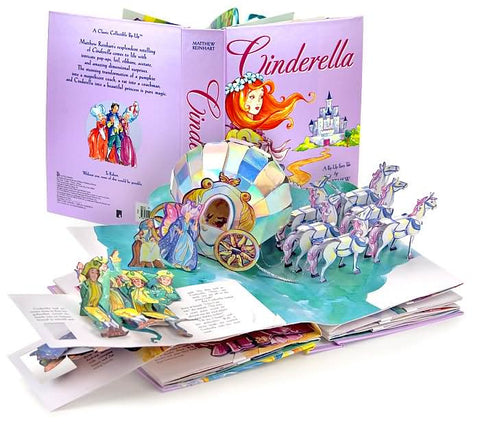 Matthew Reinhart Cinderella A Pop-Up Fairy Tale Singapore