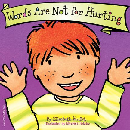 Elizabeth Verdick Best Behaviour Series Words Are Not for Hurting Singapore