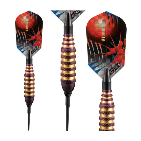 Image of Viper Atomic Bee Purple Soft Tip Darts 16 Grams
