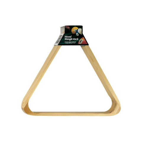 Viper Wood Triangle Ball Rack