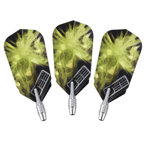 Image of Viper Spinning Bee Black Soft Tip Darts 16 Grams