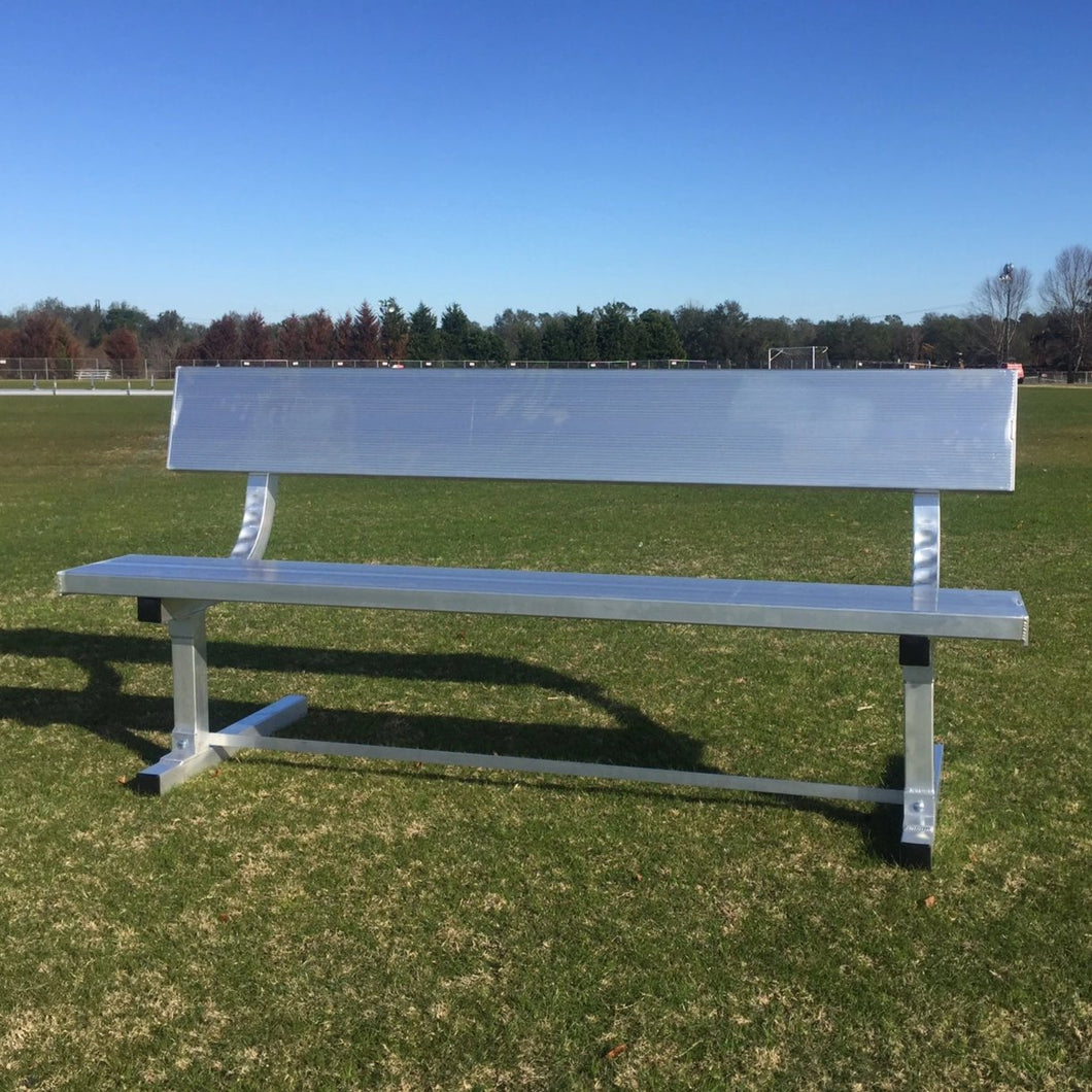 PEVO Team Bench with Back