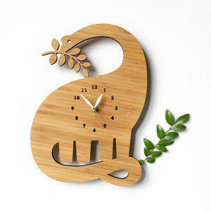 Kids Dinosaur Wall Clock for boys