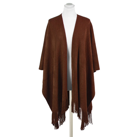 Anthea Super Soft Wrap with Fringe
