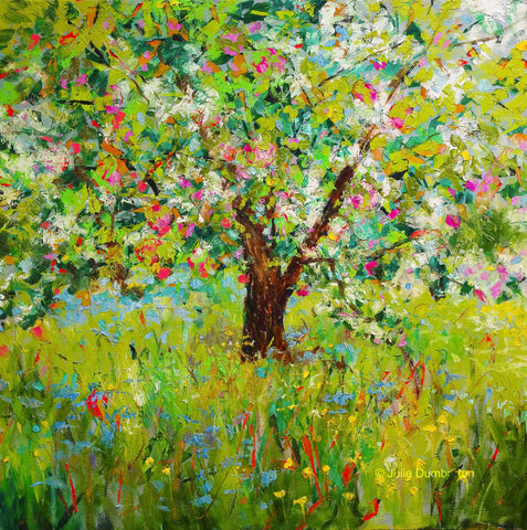 'Apple Tree' Print Hand Signed By Julie