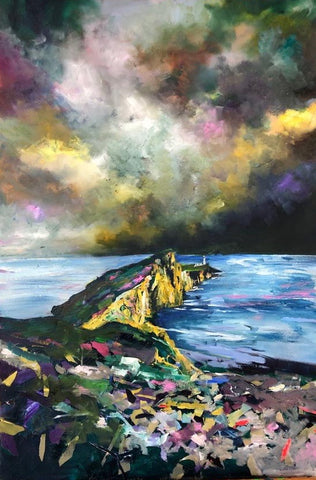 'Neist Point' Print Hand Signed By Julie