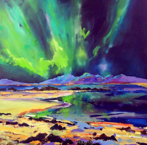 Julie's 'Six weeks of colour' course - Northern Lights