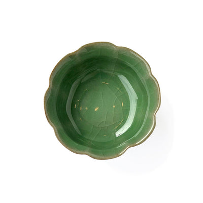 Traditional China Teacup green