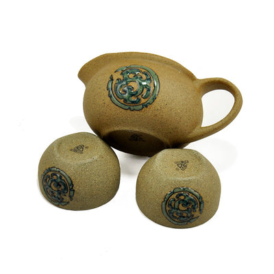 gongfu teapot and cups 3