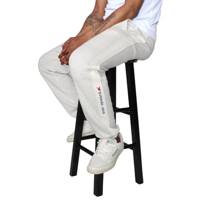 Upward Premium Sweatpant - Eggshell Mix