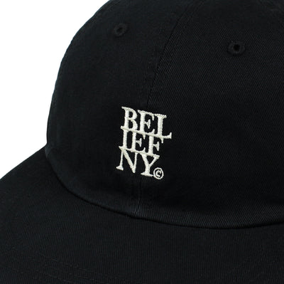 Stacked 6 Panel - Black