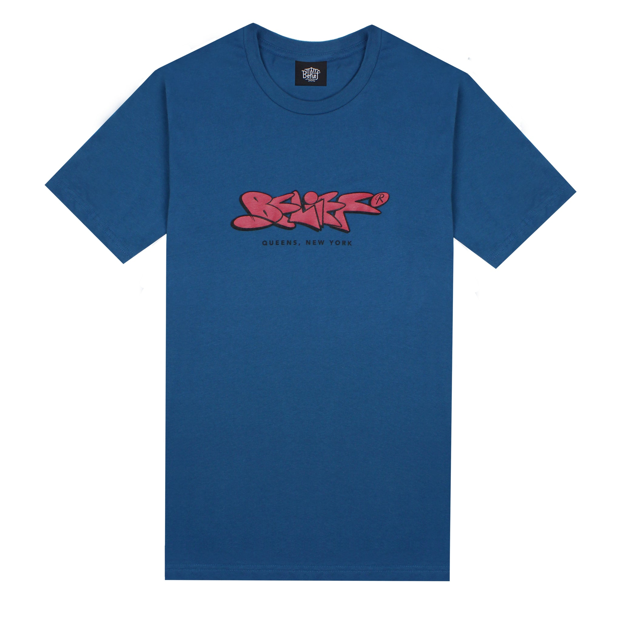 Paint Tee - Deep Teal