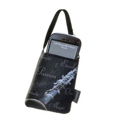 Cell Phone Pouch-Saxophone