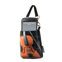 Cell Phone Pouch-Violin