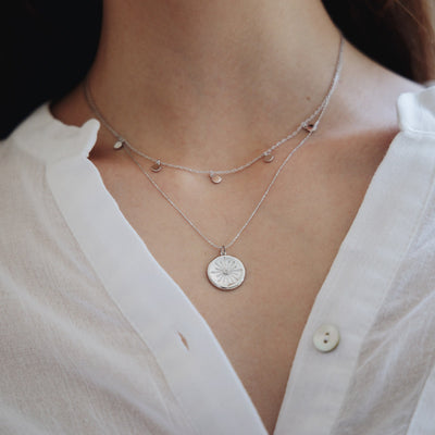 Silver Astrid Necklace