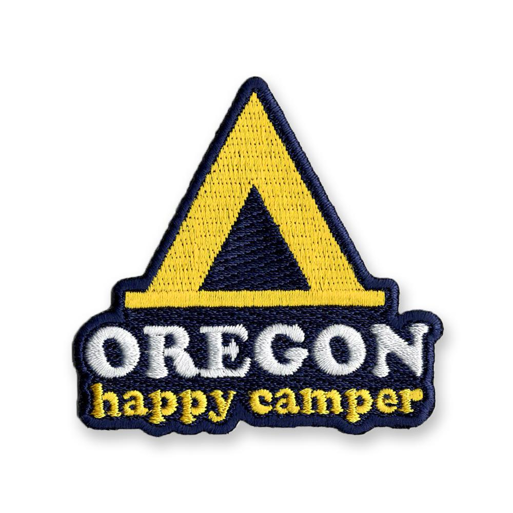 Happy Camper Oregon | Embroidered Patch