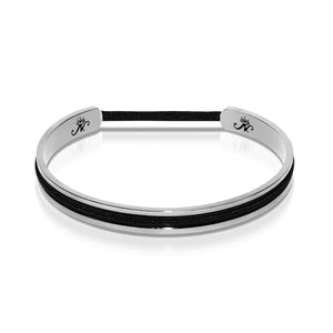 Silver | Hair Elastic Bangle