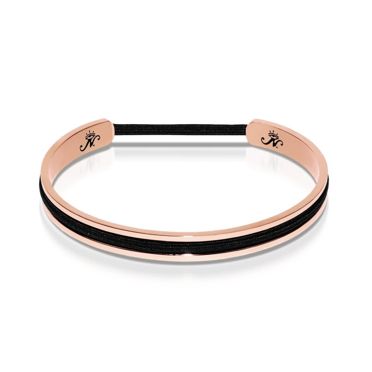 18k Rose Gold | Hair Elastic Bangle