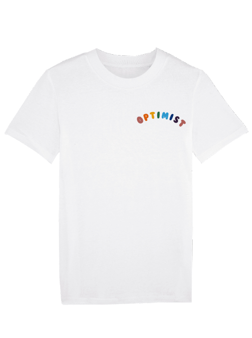 Optimist Embroidered Organic Cotton Tee