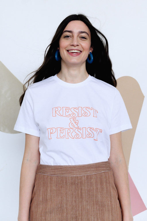 Resist & Persist Screen Printed T-Shirt